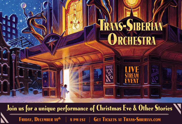 Trans-Siberian Orchestra - Live Stream Event