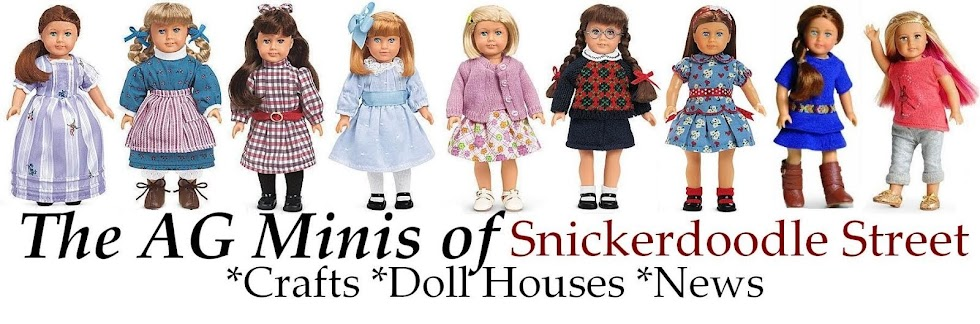 The AG Minis of SNICKERDOODLE STREET