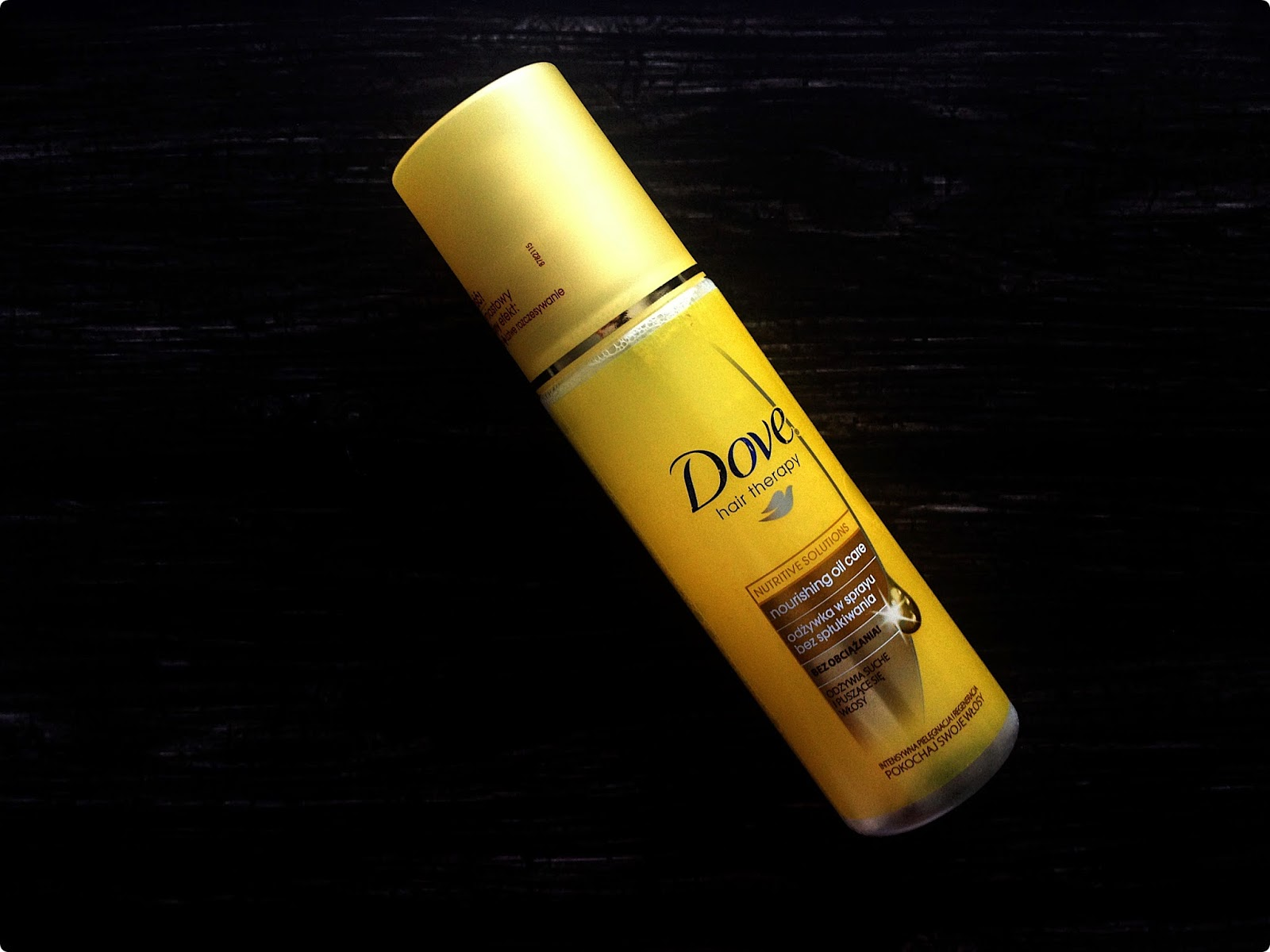 Odżywka w sprayu  Dove Nourishing Oil Care