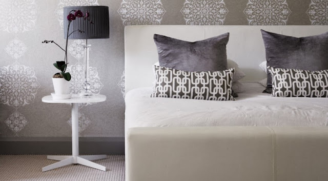 Aranżacja sypialni w domu w Johanessburgu