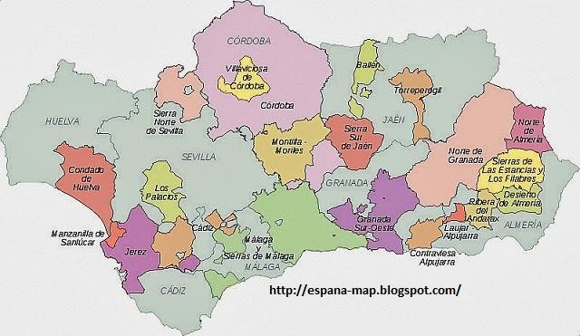de Andalucia Region