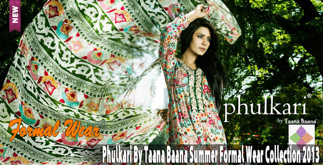Phulkari By Taana Baana Summer Formal Wear Collection 2013