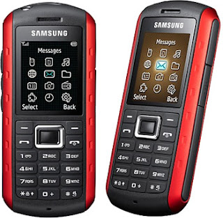 Samsung B2100 Xplorer is a water ,dust and shock resistant phone