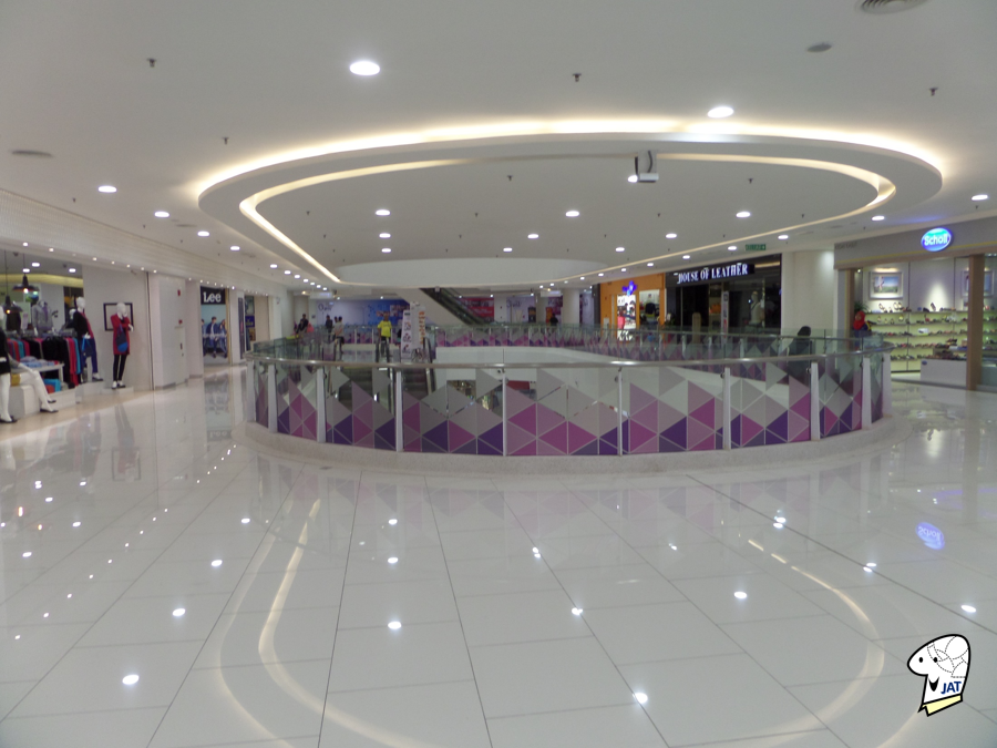 Quill City Mall, upper floors.