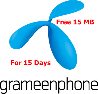 Free internet packages of gp