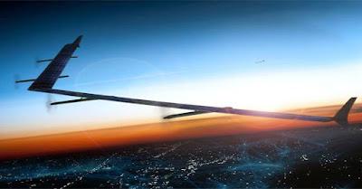 Google Uji Drone yang Pancarkan Internet 5G