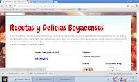 Recetas y Delicias Boyacenses