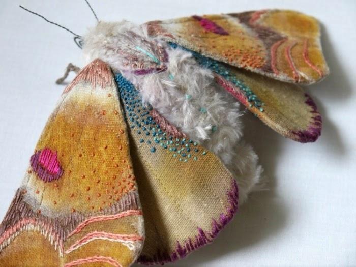 Текстильная бабочка своими руками - Uinzone.ru