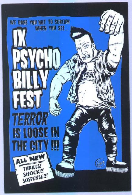 9º Psychobilly Fest (2003) - Reportagens da Época