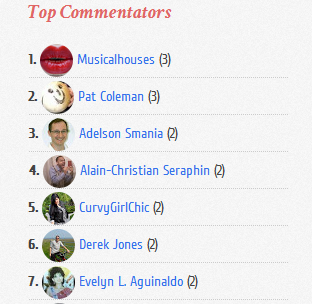 add top commentators widget to blogger