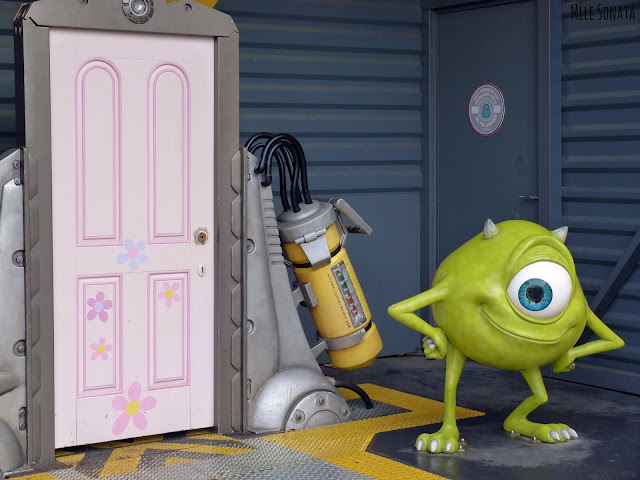 Monstres et compagnie à Disney Studio.