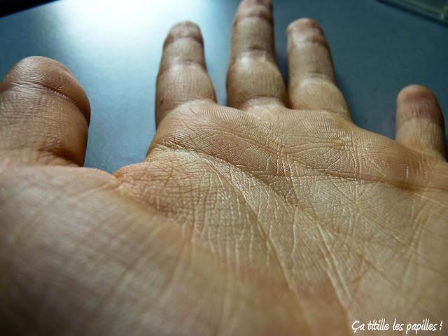 Ça titille les papilles !, Main, Grain de peau, Peau, Lignes de la main, Macro