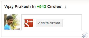 google plus add to circles widget