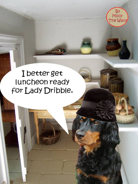 Episode 3 Luncheon is served, Lady Dribble and her quibble over the nibble! 3