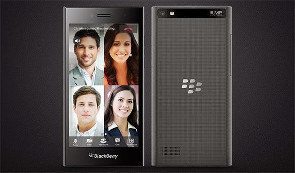 BlackBerry Leap resmi dirilis, dengan layar 5 inch HD