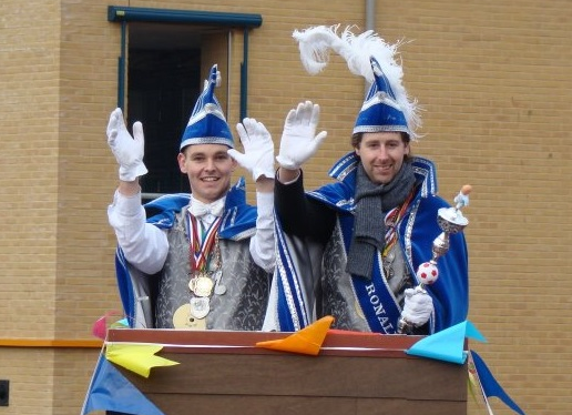 Prins Ronald 1e en Adjudant Bas 2008 / 2009: