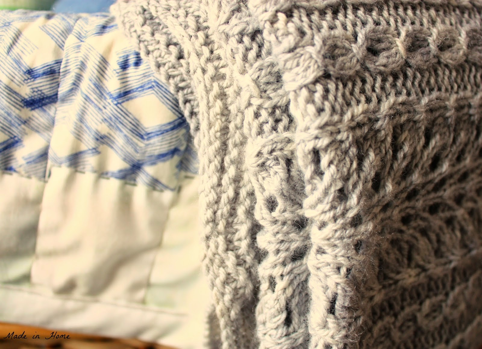 Made in Home: The need to nest | WIP {Knitting}