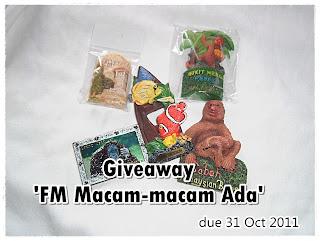 Giveaway: FM Macam-macam Ada