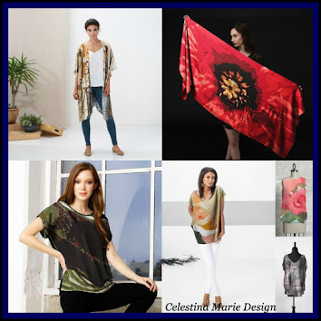 Celestina Marie Design, Apparel and Home Decor