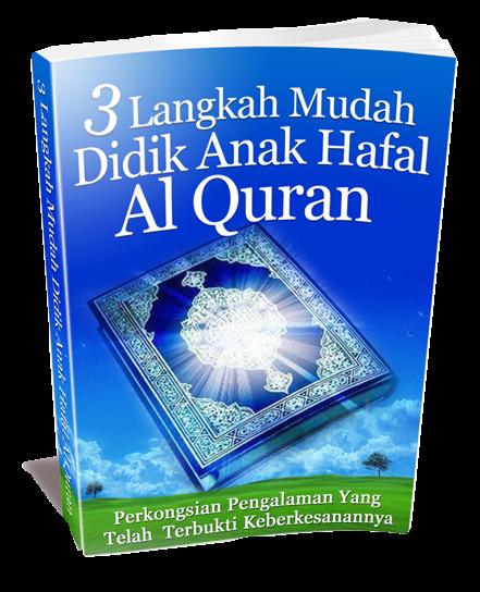 EBOOK LANGKAH MUDAH DIDIK ANAK HAFAL AL-QURAN