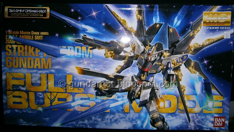 Strike Freedom Gundam Full Burst Mode MG Review Part 1 - Gundam3R