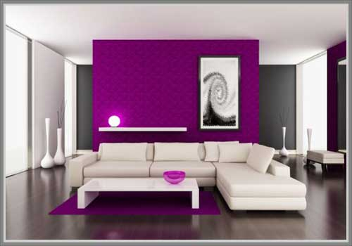 Purple Living Room Decorating Ideas Zakrecona Milka