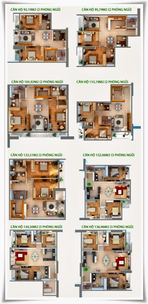 Sơ đồ thiết kế chi tiết căn hộ Thảo Điền Pearl