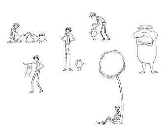 #3 The Lorax Coloring Page