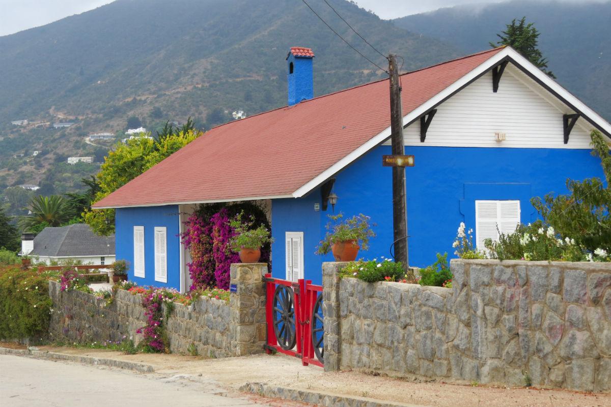 beach house in zapallar chile