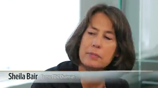 Sheila Bair, former head of FDIC in WSJ interview
