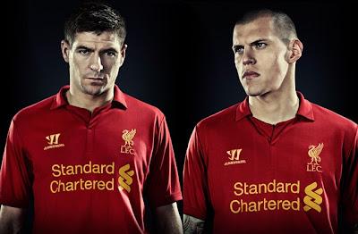 Liverpool : Jersey Terbaru Untuk Musim Depan