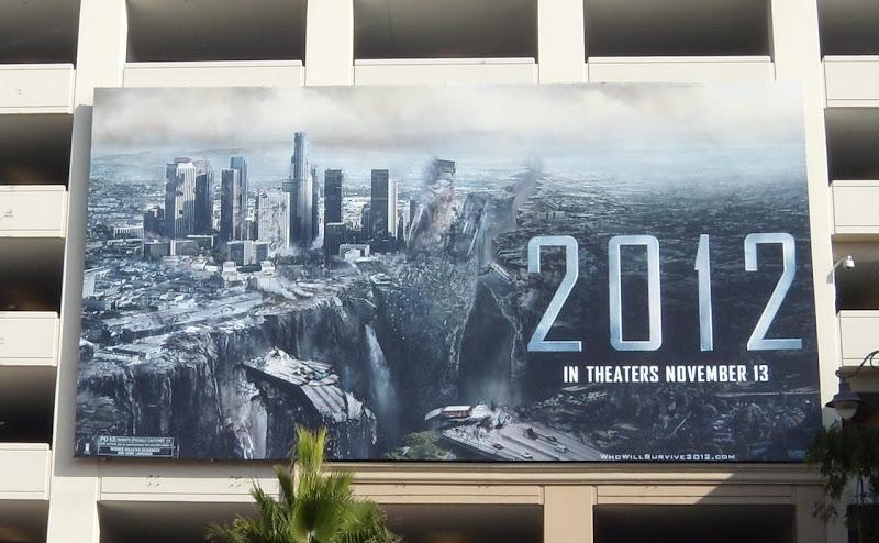 2012 movie Downtown LA billboard