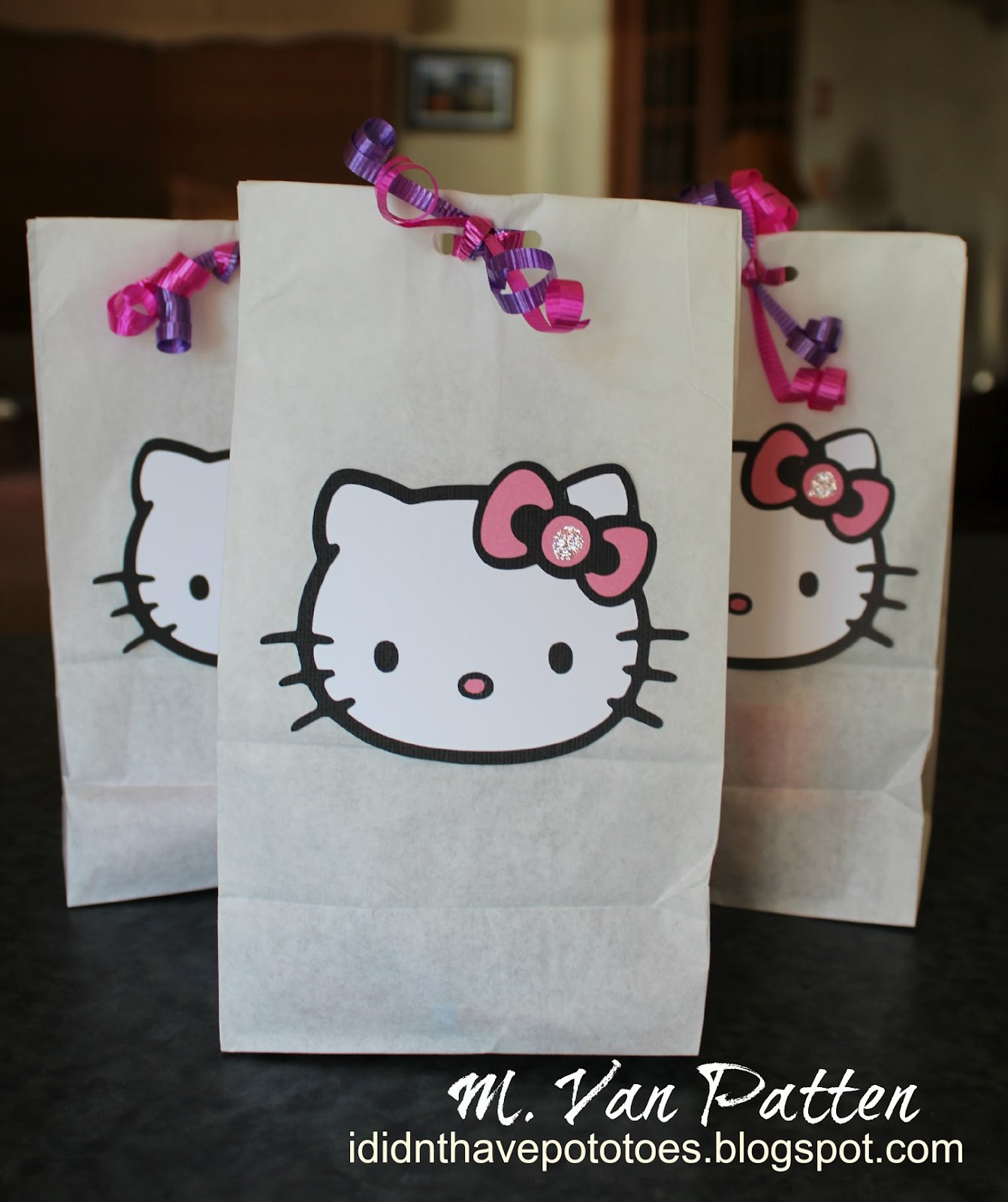 Didn't Have Potatoes: My Hello Kitty Birthday Girl
