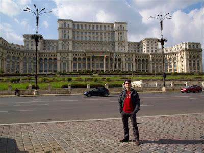 Parlamento de Rumanía en Bucarest