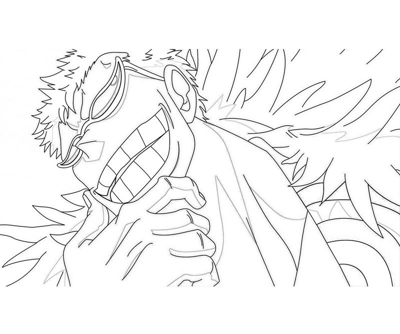 One Piece Coloring Pages http://howmakewebsite.blogspot.com/2012/10/one-piece-donquixote-doflamingo-funny.html