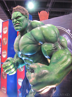The Incredible Hulk Toy Expo 2012