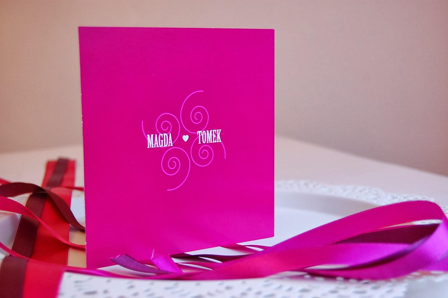 designerskie zaproszenia ślubne