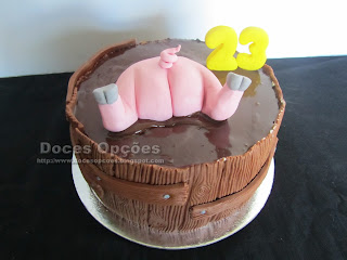 bolo aniversário reco