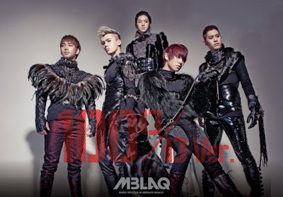 MBLAQ It's War This Is War members names concept photo