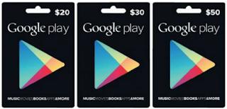 Google Play Gift Card Gratis