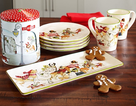 I have a bone to pick with you Pier 1! I recently discovered the delightful dog-themed Christmas dinnerware on your website and I was beyond excited to ... & GAFunkyFarmhouse: Wish List Wednesdays: Pier 1 Dog-Themed Dinnerware ...