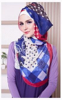 Contoh Desain Hijab Modern Zoya Terbaru
