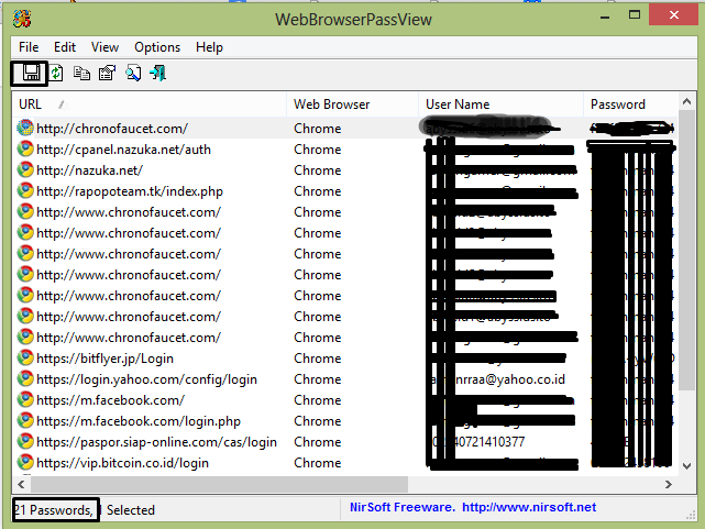 Browser Password Viewer