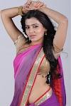 Samantha Recent Hot Navel Stills In Saree
