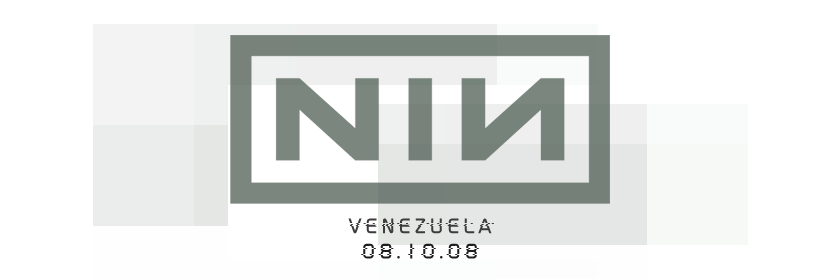 nine inch nails : venezuela [08.10.08]