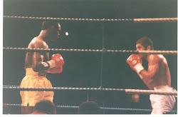 Nosso Professor de BOXE Mauricio Amaral em luta pelo Título mundial em Londres.
