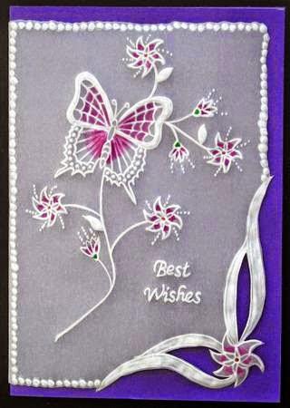 artesanato com papel vegetal