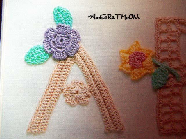 алфавит крючком схемы вязания