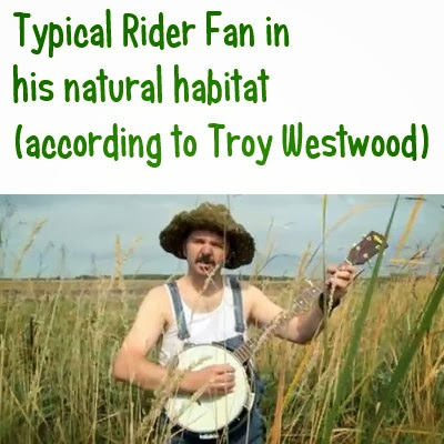 Rider Fan Banjo player