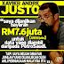 RM7.6juta Harga Data Yang Dicuri Justo Daripada PetroSaudi!! #1MDB